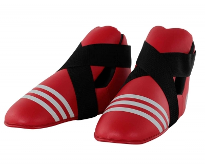 Футы Adidas WAKO Kickboxing Safety Boots красные