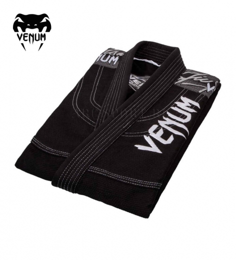 Кимоно для бжж Venum Challenger 3.0 Black/Grey