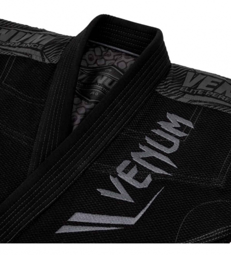 Кимоно для бжж Venum Elite Black/Black