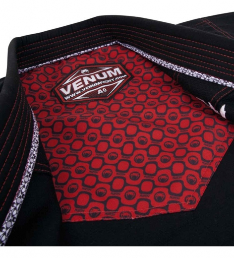 Кимоно для бжж Venum Elite Light Black/Red
