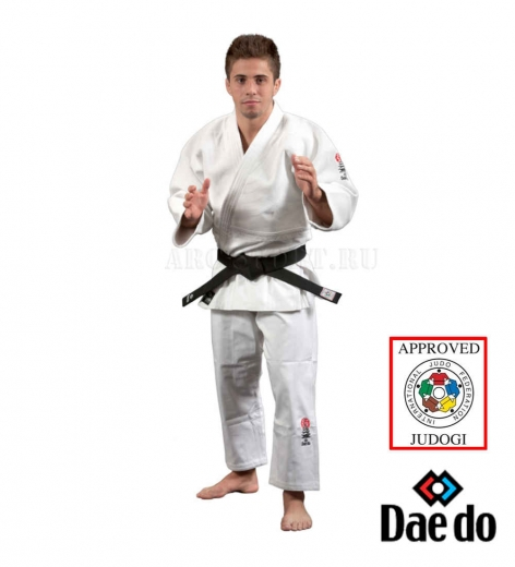 Кимоно для дзюдо DAEDO IJF Approved, белое