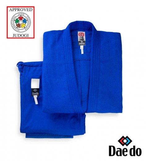 Кимоно для дзюдо DAEDO IJF Approved, синее