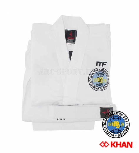 Добок KHAN ITF Club White Belt, детский
