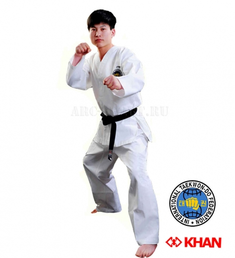 Добок KHAN ITF Club White Belt