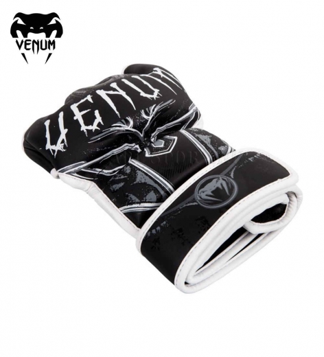 Перчатки ММА Venum Gladiator Black/White