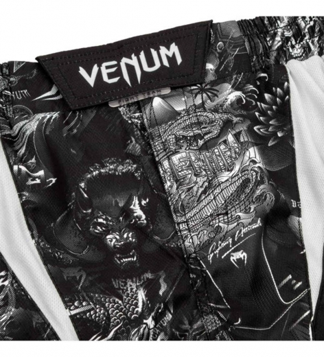 Шорты ММА Venum Art Black/White