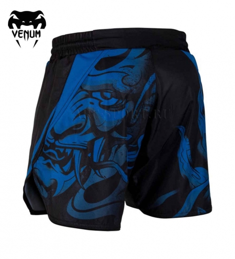 Шорты ММА Venum Devil Navy Blue/Black