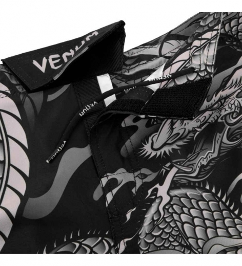 Шорты ММА Venum Dragon's Flight Black/Sand