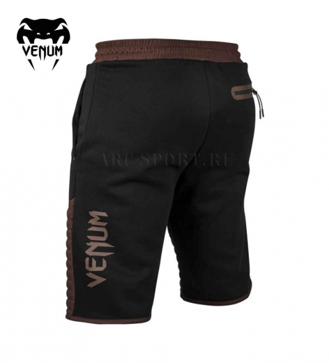 Шорты MMA Venum Laser Black/Brown
