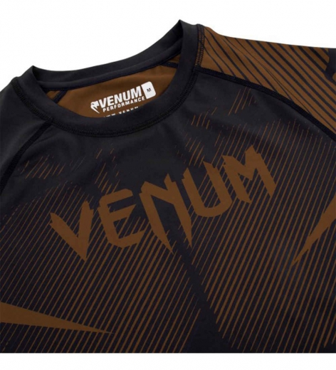 Рашгард Venum NoGi 2.0 Black/Brown L/S