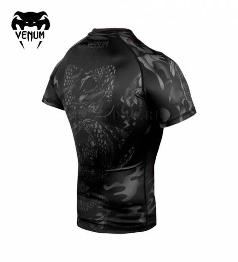 Рашгард Venum Dragon's Flight Black/Black S/S