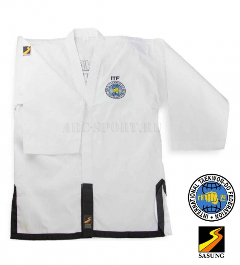 Купить добок Sasung ITF Black Belt SBB2001