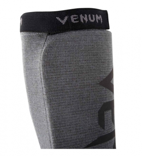 Купить Щитки Venum Kontact Grey/Black