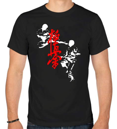 t-shirt-karate-kyokushinkay-kick