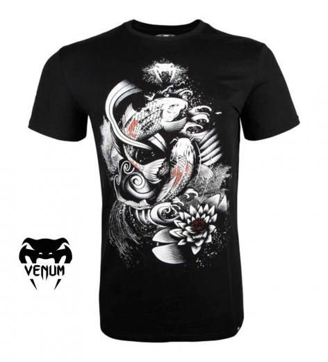 Футболка Venum Koi 2.0 Black/White