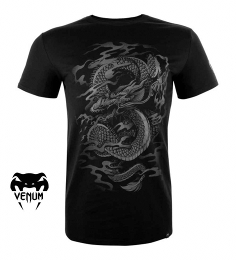 Футболка Venum Dragon's Flight Black/Black