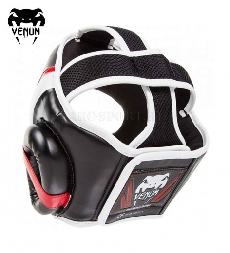 Шлем MMA Venum Elite Black/Red/White